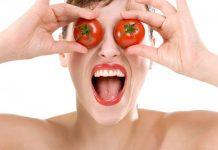 đắp mặt nạ cà chua có bị ăn nắng không
